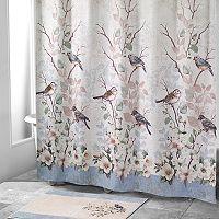 Avanti Love Nest Bird Shower Curtain Collection