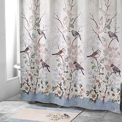 Avanti Love Nest Bird Shower Curtain Collection