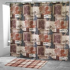 Avanti Nature Walk Shower Curtain Collection
