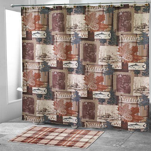 Avanti Nature Walk Shower Curtain Collection