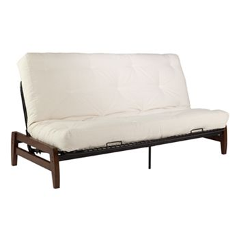 brown small space futons furniture furniture decor kohl 39 s. Black Bedroom Furniture Sets. Home Design Ideas
