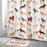 Avanti Dogs On Parade Shower Curtain Collection