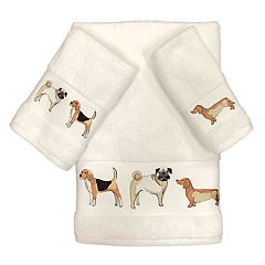 Avanti Dogs On Parade Bath Towel Collection