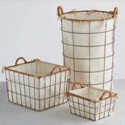 Soho Market Nantucket Bin & Hamper Storage Collection