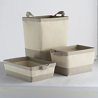 Soho Market Serenity Bin & Hamper Storage Collection