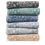 SONOMA Goods for Life® Ultimate Performance Hygro® Paisley Bath Towel Collection