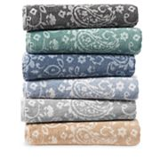 SONOMA Goods for Life™ Ultimate Performance Hygro® Paisley Bath Towel Collection