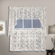 United Curtain Co. Madame Butterfly Kitchen Window Curtains
