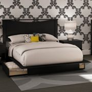 South Shore Platform Bed and Headboard Collection