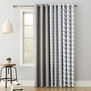 The Big One® Decorative 2-pack Gray Window Curtain Collection