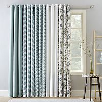 The Big One® Decorative 2-pack Aqua Window Curtain Collection