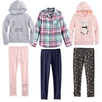 Girls 4-7 Jumping Beans® Mix & Match Outfits