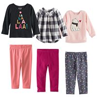 Baby Girl Jumping Beans® Mix & Match Outfits