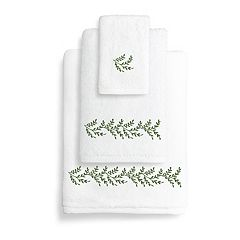 Linum Home Textiles Autumn Leaves Bath Towel Collection