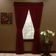Aurora Antique Satin Pinch-Pleated Drapes