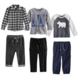 Baby Boy Jumping Beans® Fall Mix & Match Outfits