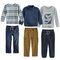 Toddler Boy Jumping Beans® Fall Mix & Match Outfits