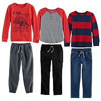 Boys 4-10 Jumping Beans® Fall Mix & Match Outfits