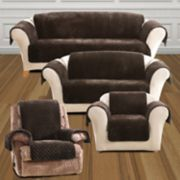 Sure Fit Faux Fur Quilted Slipcover Collection