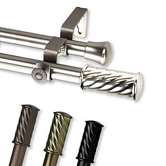 Rod Desyne Grip Window Curtain Rods