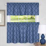 Achim Colby Trellis Kitchen Window Curtains