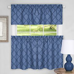 Achim Colby Trellis Kitchen Window Curtains