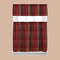 Saturday Knight, Ltd. Brighton Tier Kitchen Window Curtains