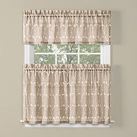 Saturday Knight, Ltd. Briarwood Tier Kitchen Window Curtains