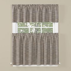 Saturday Knight, Ltd. Copeland Tier Kitchen Window Curtains