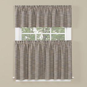 Saturday Knight, Ltd. Copeland Tier Kitchen Window Curtains