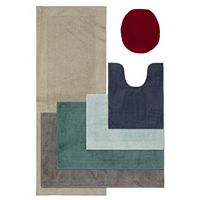 SONOMA Goods For Life™ Cotton Reversible Solid Border Bath Rug Collection