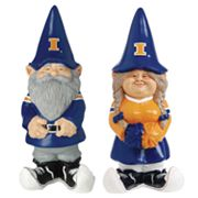Illinois Fighting Illini Garden Gnomes