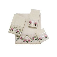 Avanti Victoria Embroidered Bath Towel Collection
