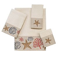 Avanti Sea Treasure Bath Towel Collection
