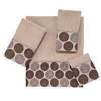 Avanti Dotted Circles Bath Towel Collection