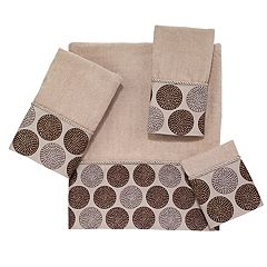 Avanti Dotted Circles Bath Towel Collection