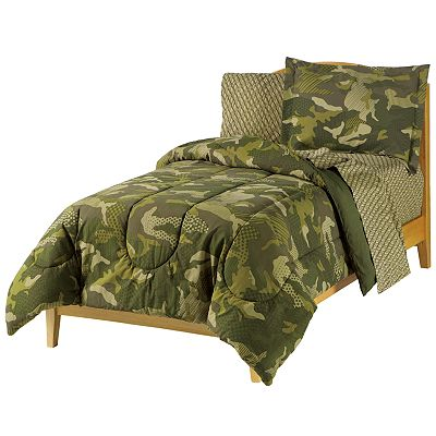 My Room Camouflage Bed Set