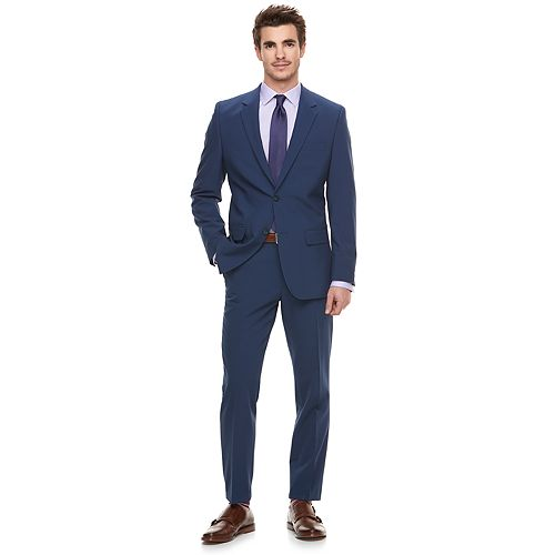 8628b281a1b0 Men s Marc Anthony Slim-Fit Navy Stretch Suit Separates