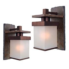 Boulder 1-Light Wall Lanterns