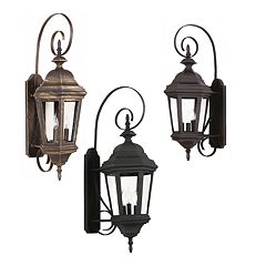 Estate 3-Light Wall Lanterns
