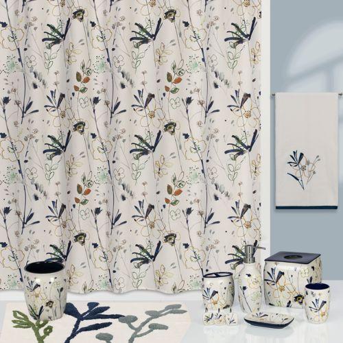 Creative Bath Shower Curtain creative bath primavera shower curtain collection