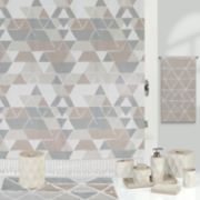 Creative Bath Triangles Shower Curtain Collection