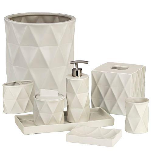 Creative Bath Triangles Bath Accessories Collection