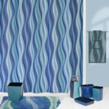 Creative Bath Wavelength Shower Curtain Collection