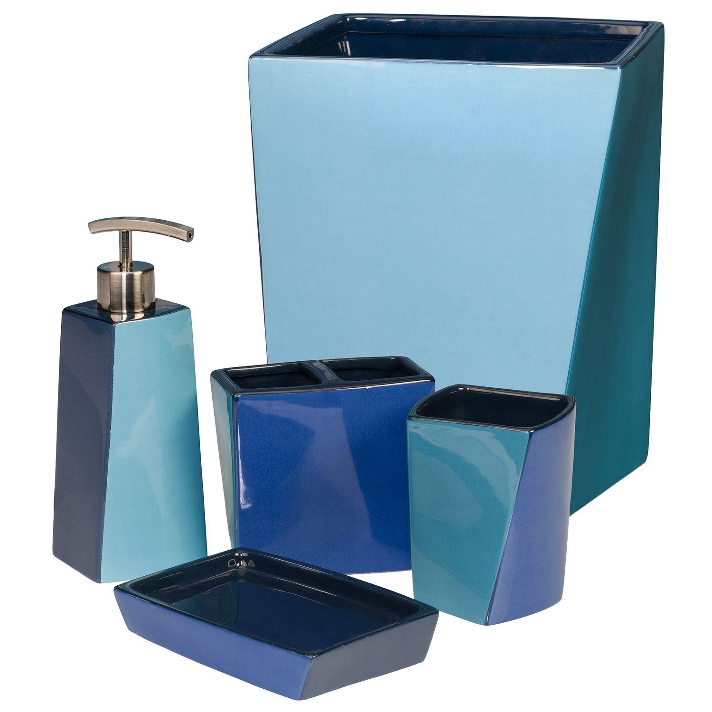 Creative Bath Wavelength Bath Accessories Collection