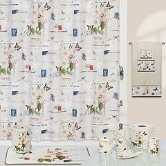 Creative Bath Botanical Shower Curtain Collection