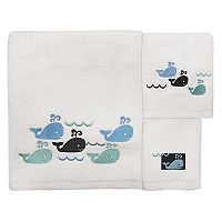 Allure Home Creations Whale Watch Bath Towel Collection