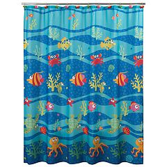 Allure Home Creations Fish Tails Shower Curtain Collection