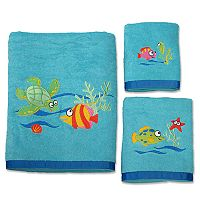 Allure Home Creations Fish Tails Bath Towel Collection