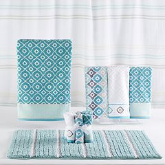 One Home Toledo Stripe Shower Curtain Collection